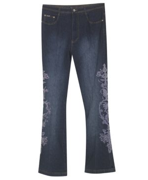 Embroidered Envy Jean
