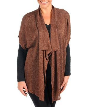 Brown High Definition Cardigan
