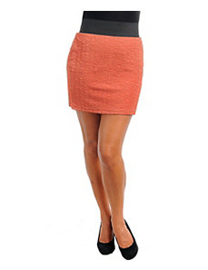 Orange Rock Star Skirt by alight