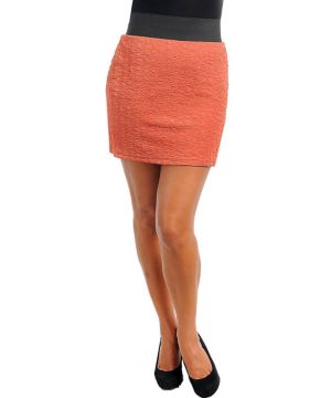 Orange Rock Star Skirt