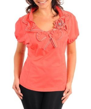 Coral Triple Play Top