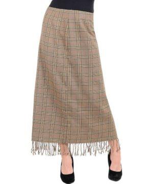 Fringed Long Skirt