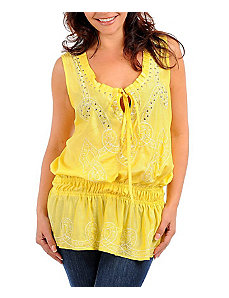 Yellow All Night Top by alight
