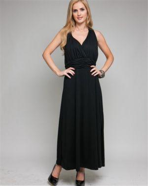 Black Elegant Maxi Dress