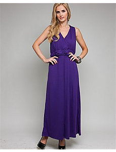 Purple Elegant Maxi Dress by alight