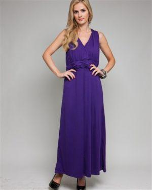 Purple Elegant Maxi Dress