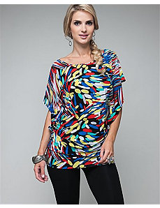 Rainbow Tunic Top by alight