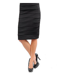 Black Pencil Skirt by alight