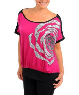 Fuchsia Chic Top