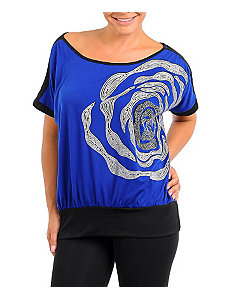 Blue Chic Top by alight