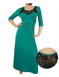 Green Lace Maxi Dress by alight