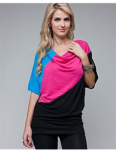Fuchsia Stripe Tunic by alight