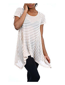 Tan Stripes Top by alight