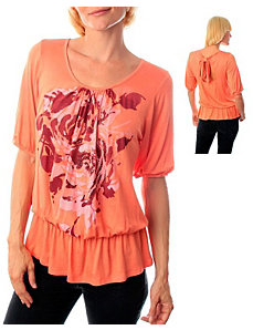 Orange Avenue Top by alight