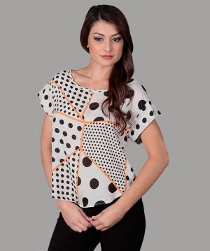 Dot Stripe Top