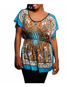 Pleasant Print Top by alight