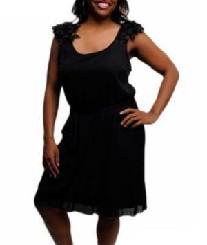 Black Drama Dress