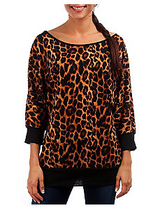 Cheetah Print Top by alight