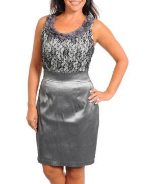 Sexy Silver Dress