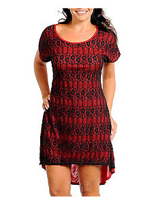 Red Hi Low Dress by alight