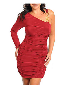 Red Party Dress by alight