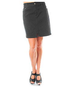 Moon Black Jean Skirt by alight