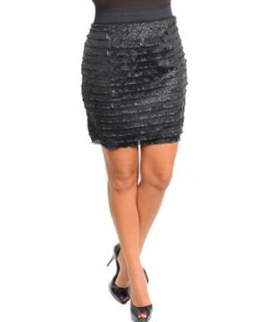 Black Whisper Skirt