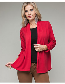 Magenta Carefree Cardigan by alight