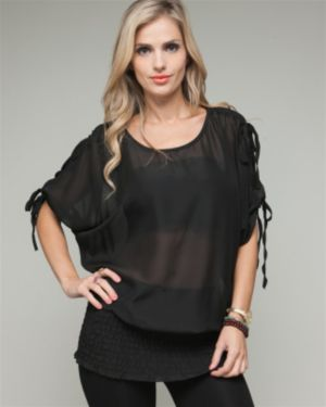Black Princess Top