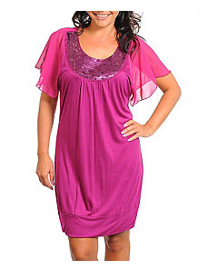 Fuchsia Nights Dress by alight