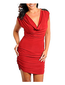 Red Lace Dress by alight