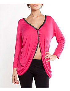 Fuchsia Fan Cardigan by alight