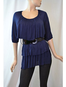 Belted Boston Top by alight