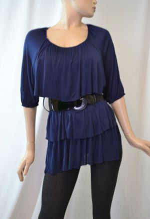 Belted Boston Top