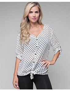 White Dot Top by alight