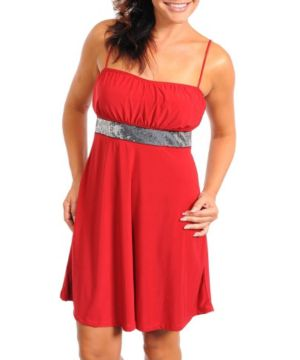 Red Pure Party Dress