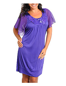 Purple Nights Dress by alight