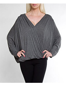 Grey Away Top by alight