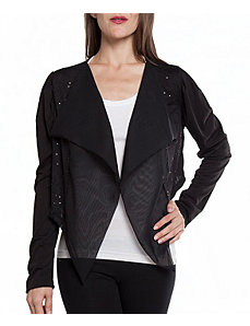 Black Glamour Shrug by alight