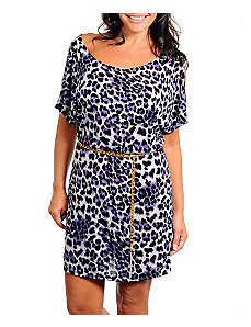 Bold Animal Print Dress by alight