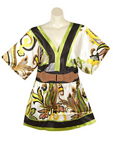 Green Belted Tunic by alight