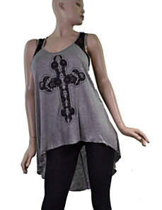 Lace Cross Tunic by alight