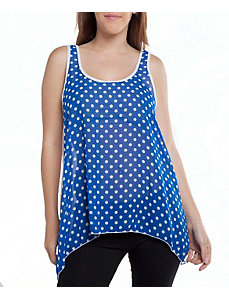 Blue Dot Tank Top by alight