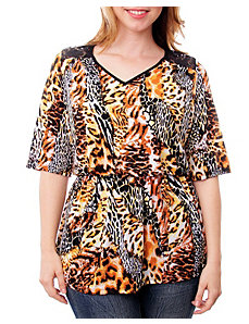 Allover Animal Top by alight