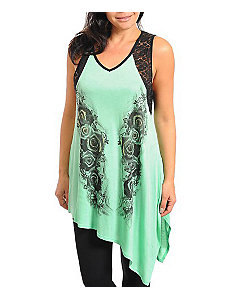 Mint Sublime Tunic by alight