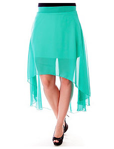 Pure Hi Low Skirt by alight