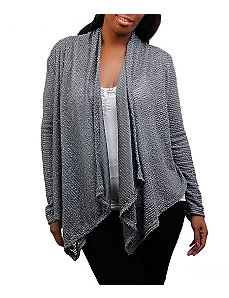 Grey Always Open Cardigan by alight