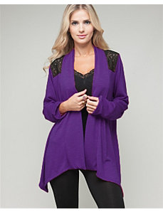 Lace Open Cardigan by alight