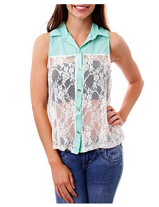Lovely Lace Top by alight