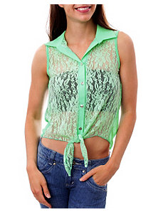 Mint London Lace Blouse by alight